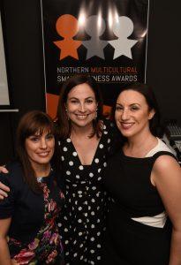 Effie Cinanni, Rebecca Meddings and Tania Sernia